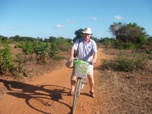 Adrian Strain visits Mtwara regularly to track progress with all our projects